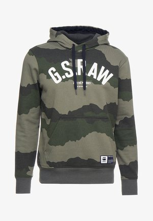 GRAPHIC 13 CORE HOODED - Hoodie - shamrock/asfalt