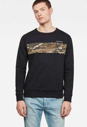 Core Camo Block - Sweater - black