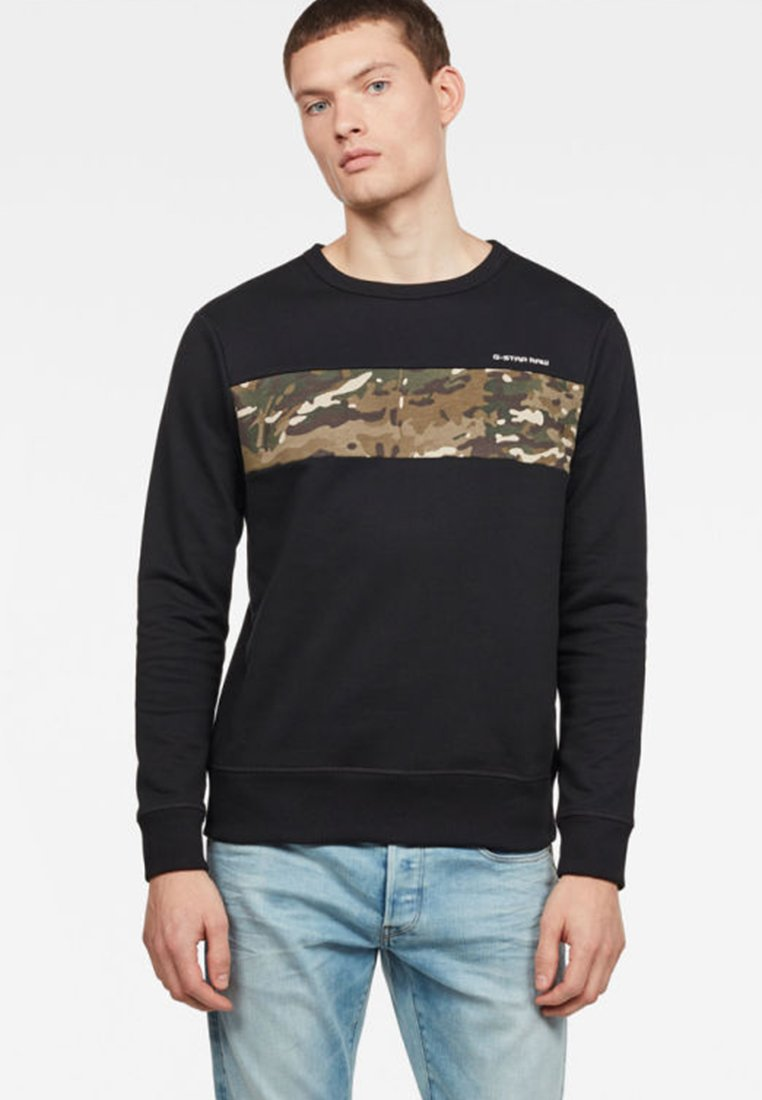 G-Star - Core Camo Block - Sweatshirt - black