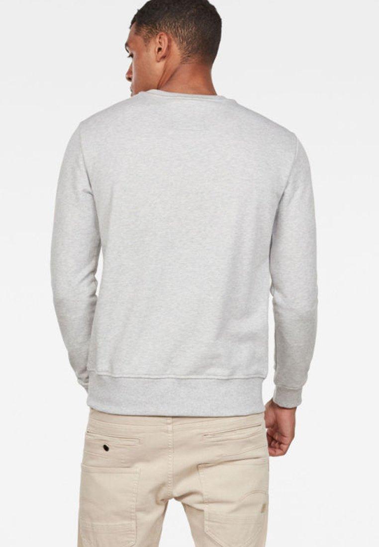 G Grey Graphic Logo star CoreSweatshirt rdCWBoxe