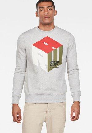 GRAPHIC LOGO CORE - Sweatshirt - grey