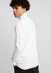 G-Star - JIRGI HALF ZIP - Topper langermet - white - 2