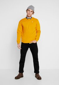 G-Star - KORPAZ  - Sweatshirt - dk gold - 1