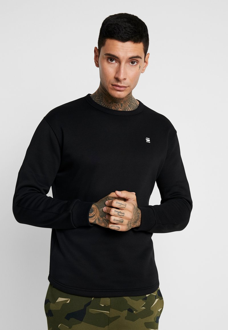 G-Star - KORPAZ  - Sweatshirt - dark black