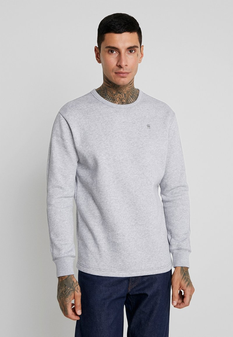 G-Star - KORPAZ SWEAT - Sweatshirt - grey heather