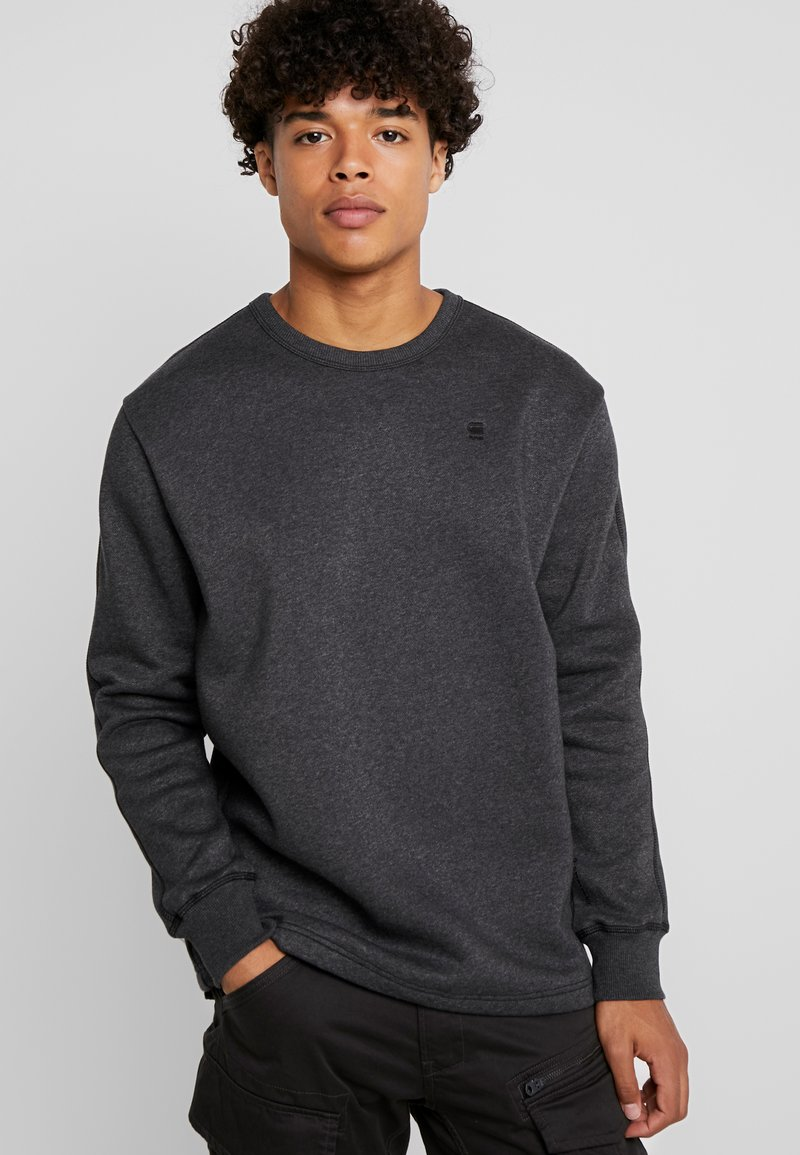 G-Star - KORPAZ SWEAT - Sudadera - black heather