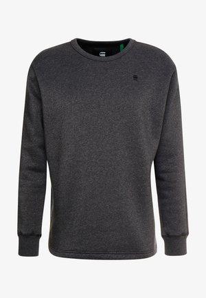 KORPAZ SWEAT - Sweatshirt - black heather