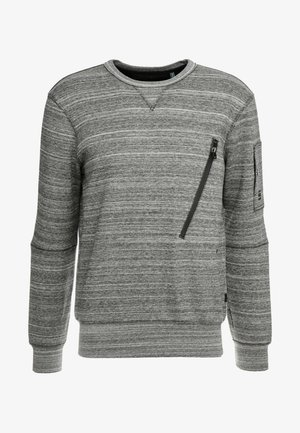 R SW L\S - Sweater - black heather