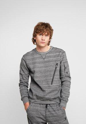 R SW L\S - Sweatshirt - black heather