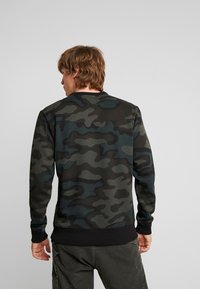 G-Star - GRAPHIC SLIM CREW  - Sweatshirt - combat fearn - 2