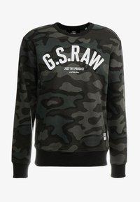 G-Star - GRAPHIC SLIM CREW  - Sweatshirt - combat fearn - 3