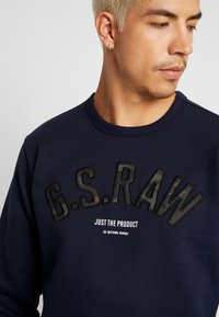 G-Star - GRAPHIC 12 SLIM R SW L\S - Sweatshirt - sartho blue - 3