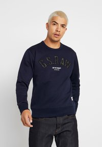 G-Star - GRAPHIC 12 SLIM R SW L\S - Sweatshirt - sartho blue - 0