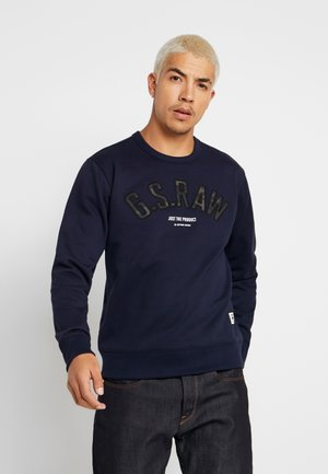 GRAPHIC 12 SLIM R SW L\S - Sweatshirt - sartho blue