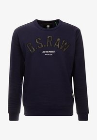 G-Star - GRAPHIC 12 SLIM R SW L\S - Sweatshirt - sartho blue - 4