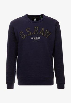 GRAPHIC 12 SLIM R SW L\S - Sweatshirt - sartho blue