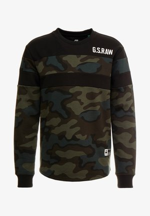 GRAPHIC 7 R SW L\S - Sweatshirt - dark combat/fearn