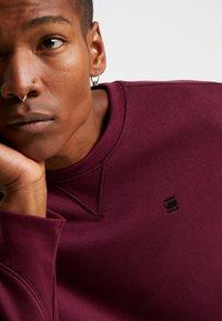 G-Star - PREMIUM BASIC  - Sweatshirt - port red - 4