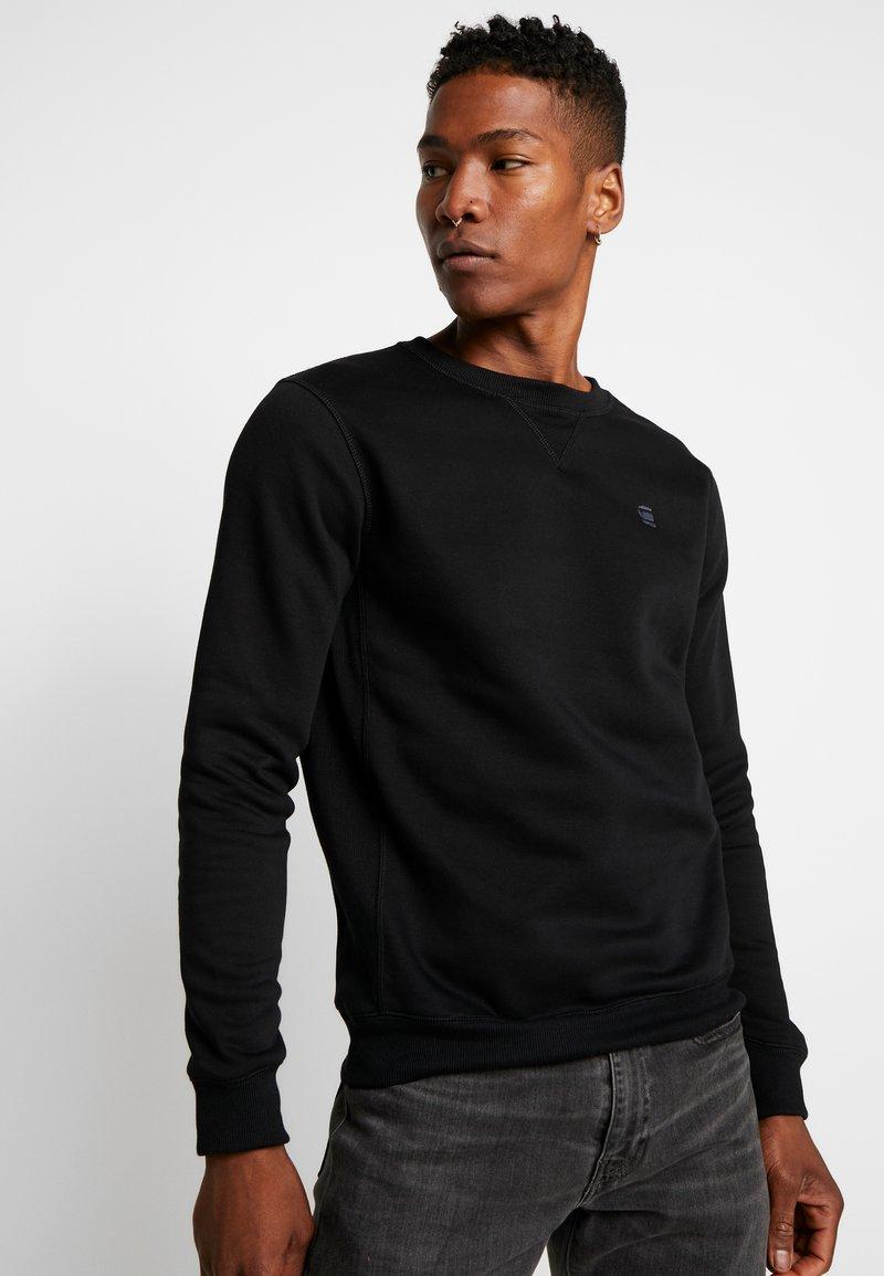 G-Star - PREMIUM BASIC  - Sweatshirts - black