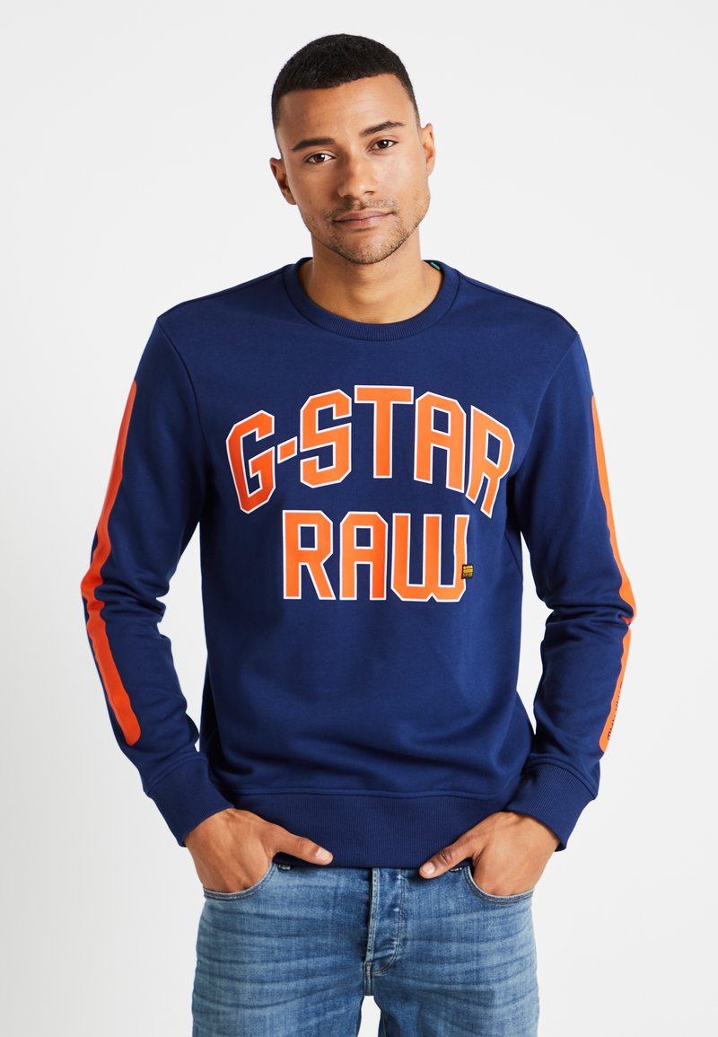 G-Star - CORE R-NECK SW L/S - Sweater - imperial blue