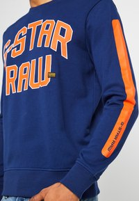 G-Star - CORE R-NECK SW L/S - Sweater - imperial blue - 4