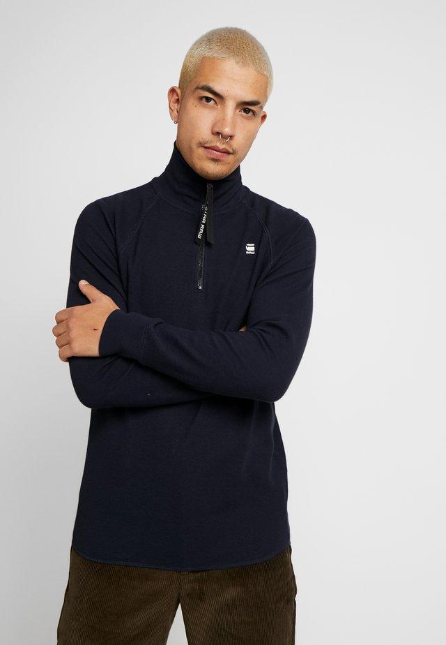 JIRGI-S HALF ZIP - Long sleeved top - mazarine blue