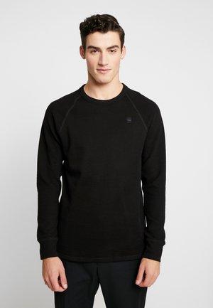 JIRGI - Stickad tröja - dk black