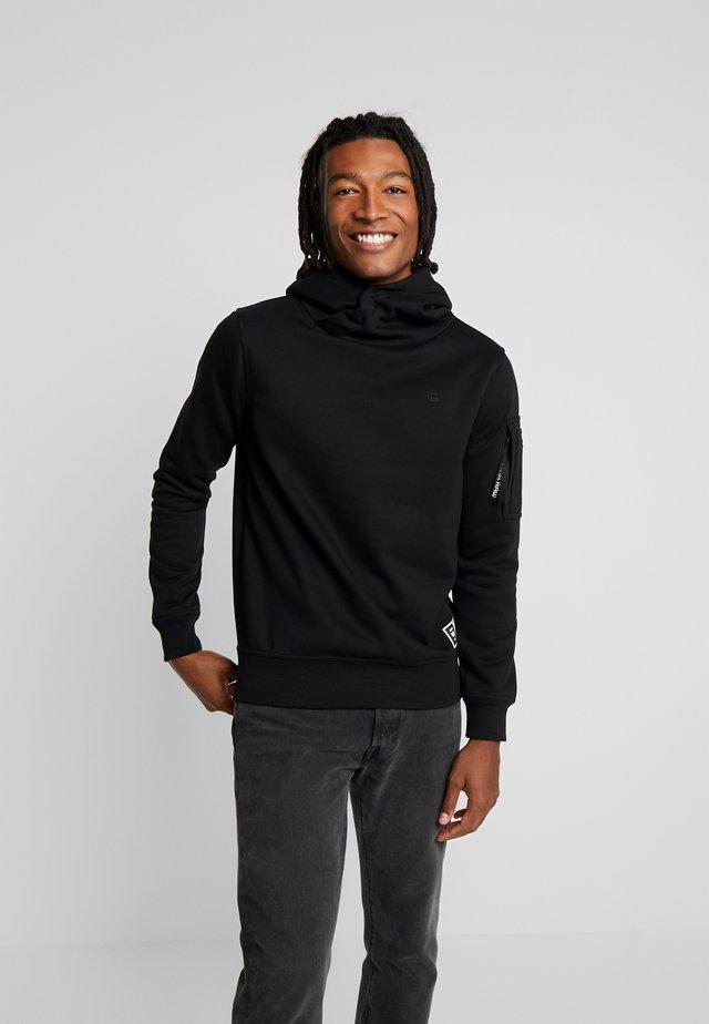 NEW AERO - Jersey con capucha - dark black