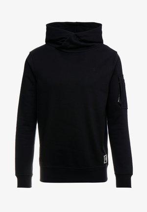 NEW AERO - Bluza z kapturem - dark black
