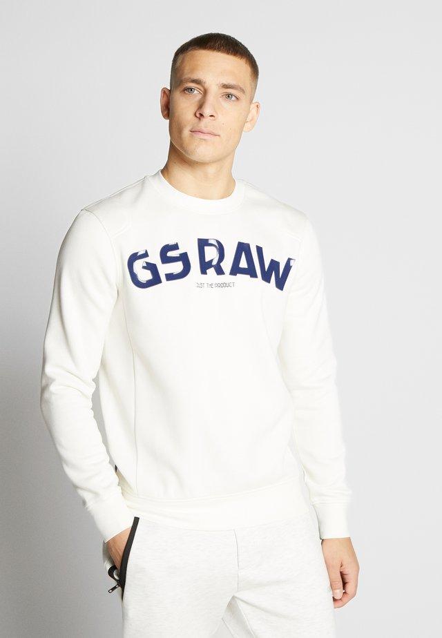 GSRAW GR - Sudadera - milk
