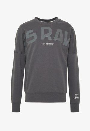GSRAW GR R SW L\S - Sweatshirt - lead