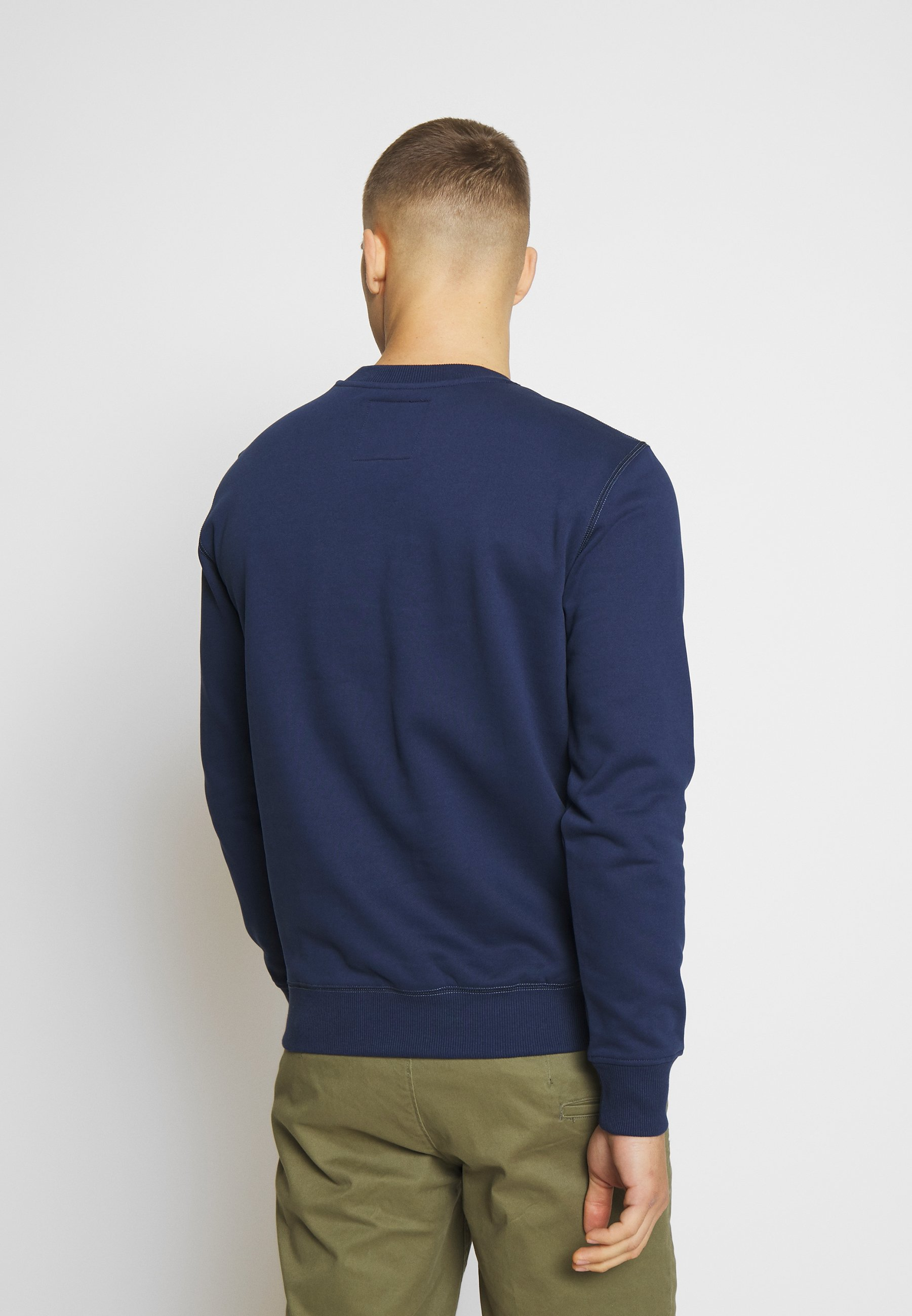 G-Star ORIGINALS LOGO - Bluza - imperial blue