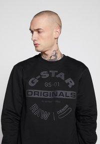 G-Star - ORIGINALS LOGO - Felpa - black - 3