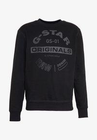 G-Star - ORIGINALS LOGO - Felpa - black - 4