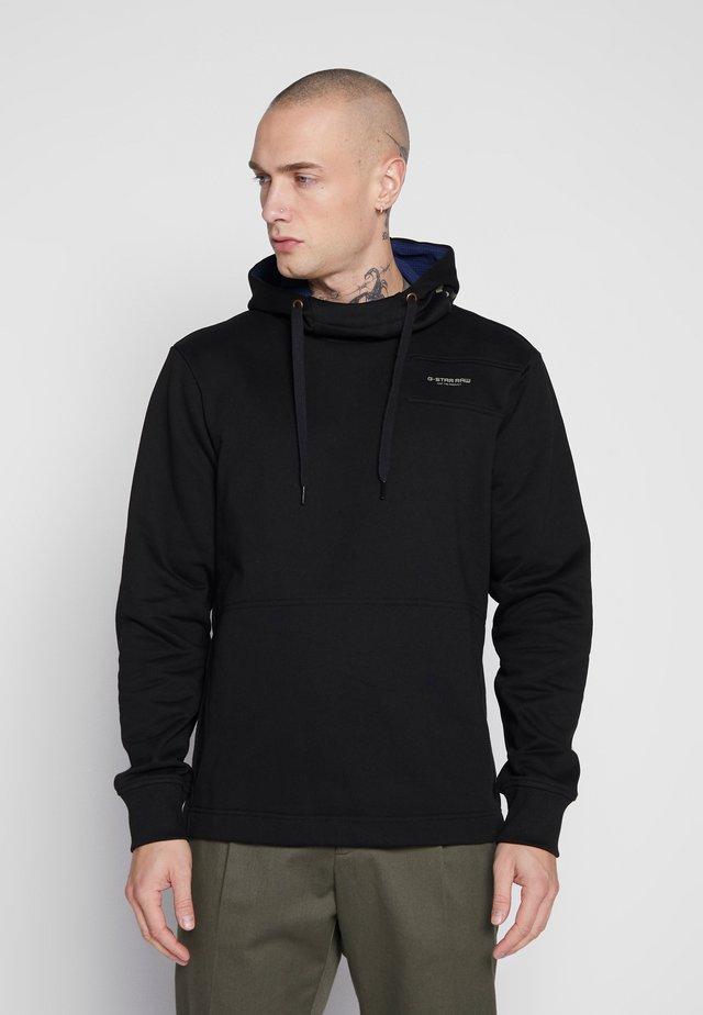 SHIELD - Jersey con capucha - black