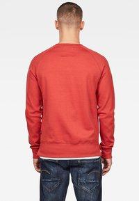 G-Star - 2-TONE ROUND NECK - Sweater - red - 1