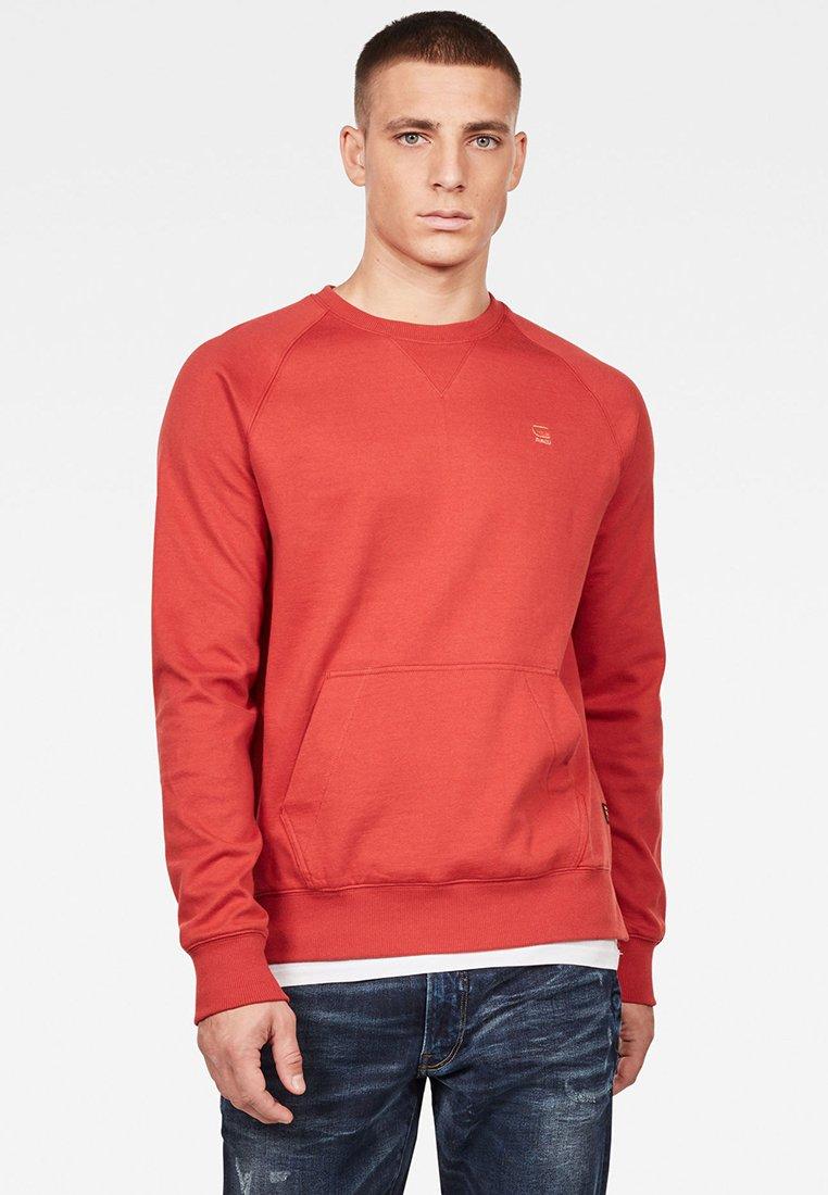 G-Star - 2-TONE ROUND NECK - Sweater - red