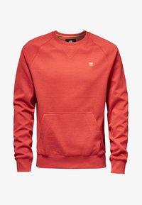 G-Star - 2-TONE ROUND NECK - Sweater - red - 5