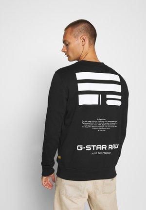 RAW DEFINITION R SW L\S - Sweatshirt - black