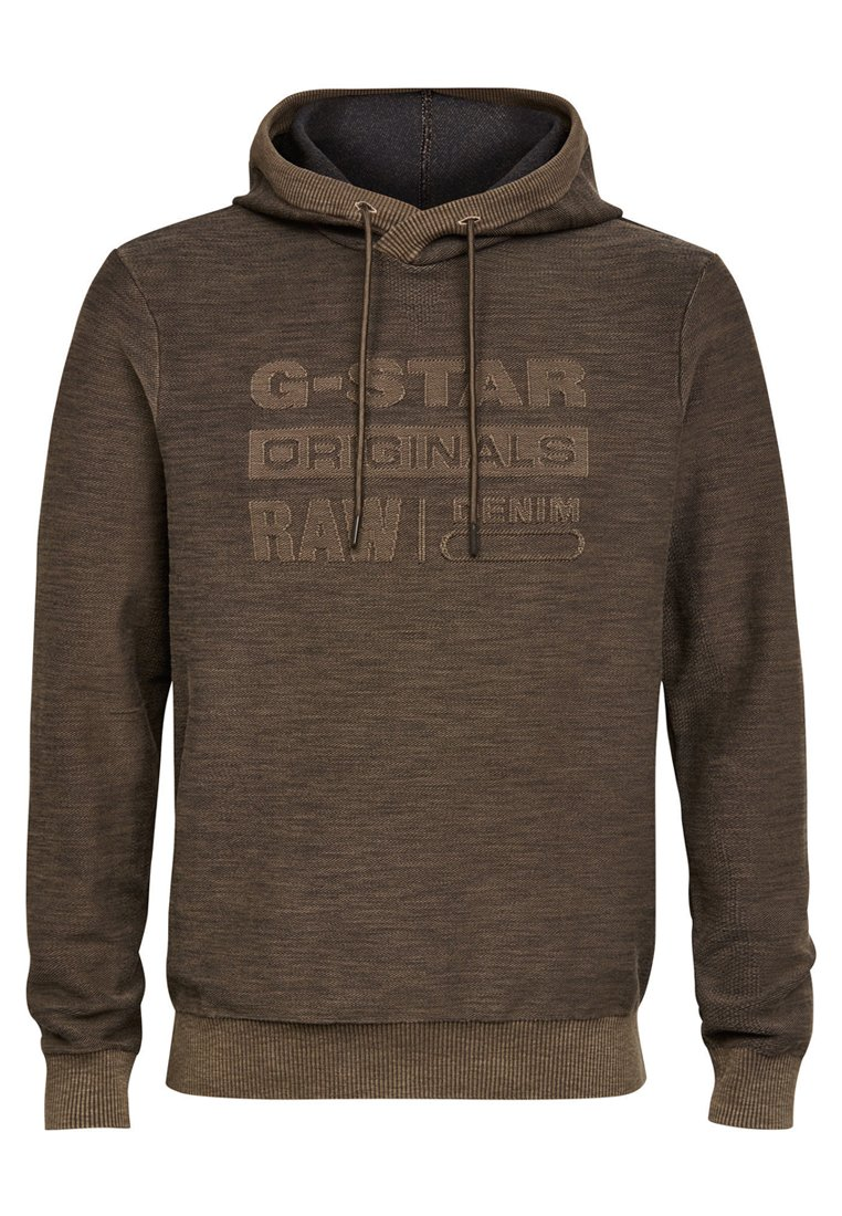 G-star Sweat À Capuche - Asphalt
