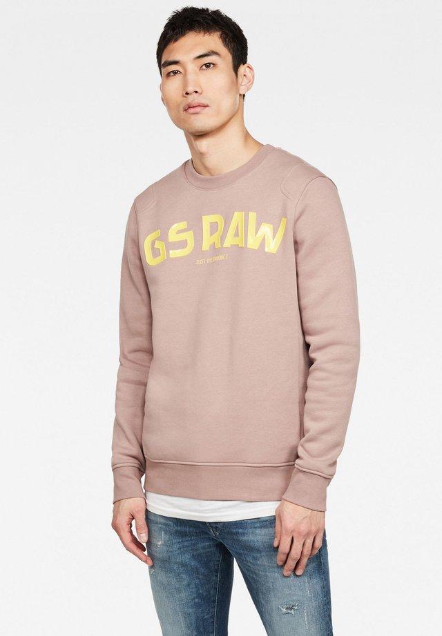Sweater - chocolate berry