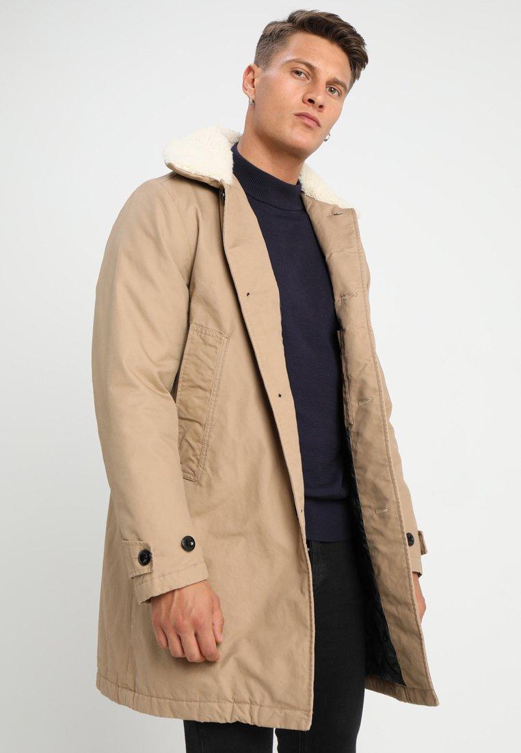 G-Star - GARBER CANVAS TEDDY - Classic coat - atacama