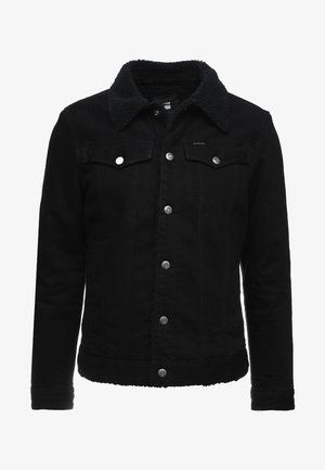3301 SLIM SHERPA JKT - Kurtka jeansowa - dark aged