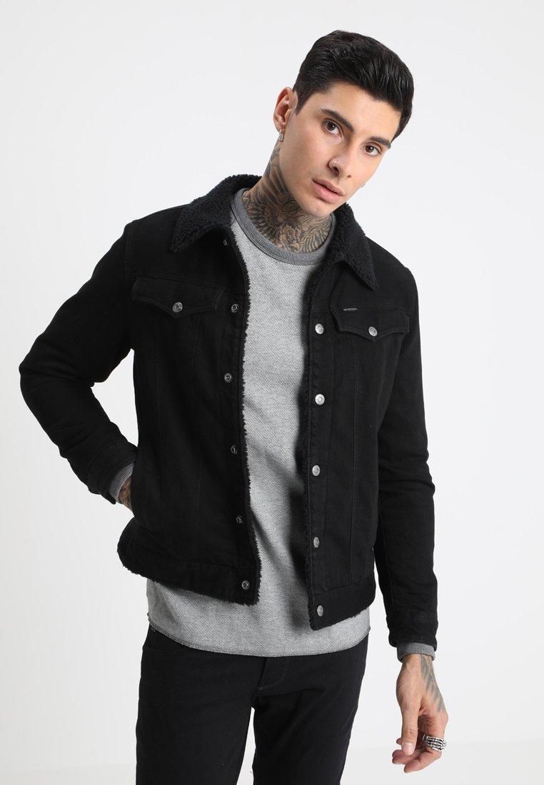 G-Star - 3301 SLIM SHERPA JKT - Denim jacket - dark aged