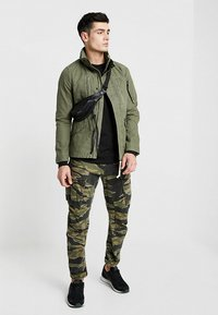 G-Star - DRIVER FIELD JKT - Summer jacket - dark shamrock - 1