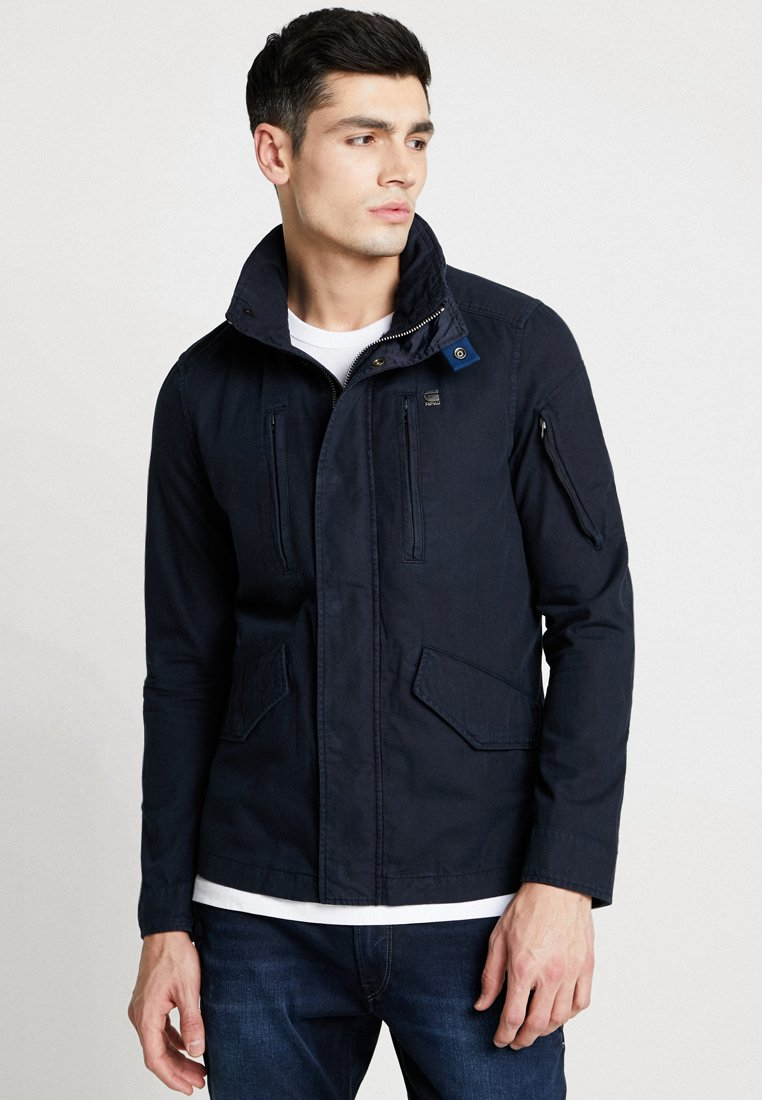 G-Star - DRIVER FIELD JKT - Summer jacket - mazarine blue