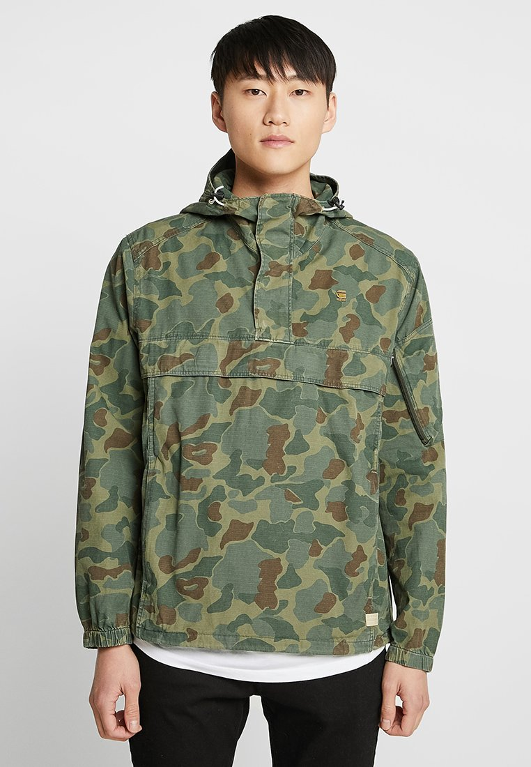 G-Star - XPO HDD AW ANORAK - Veste coupe-vent - sage/battle green ao