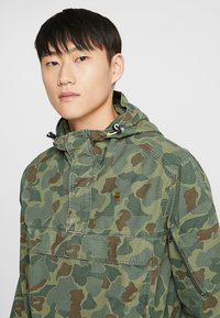G-Star - XPO HDD AW ANORAK - Windjack - sage/battle green ao - 4