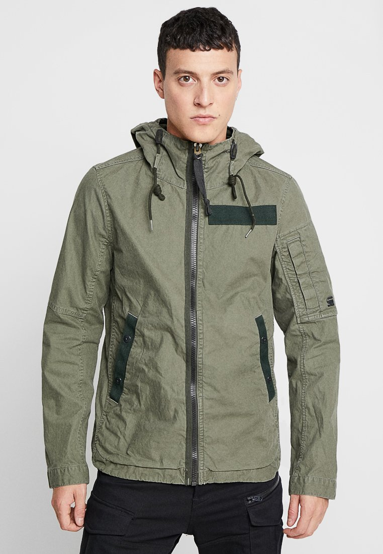 G-Star - BATT HDD OVERSHIRT L\S - Summer jacket - dark shamrock