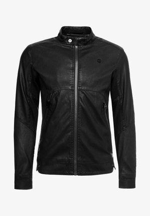 MOTAC BIKER - Faux leather jacket -  black